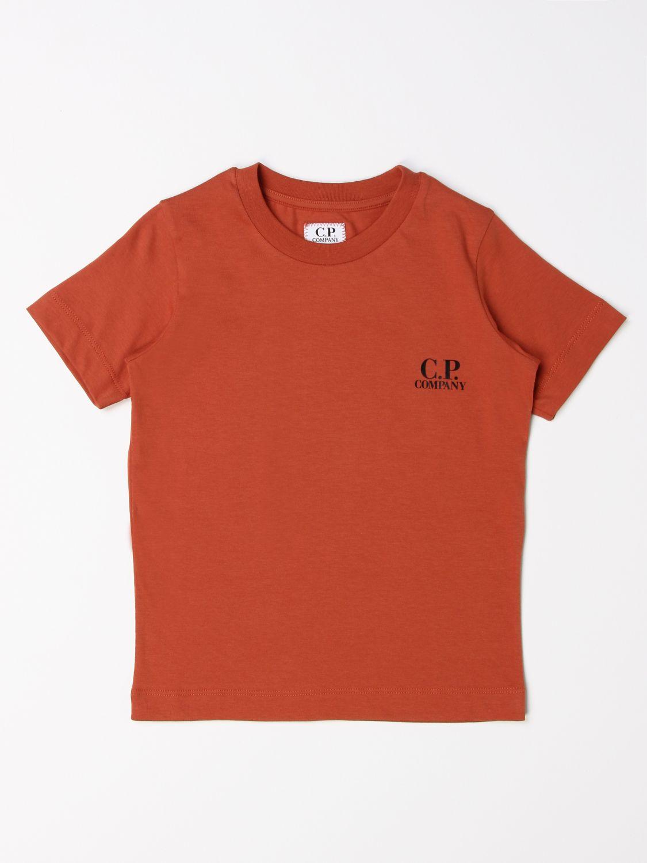 Camiseta C.p. Company: Camiseta niños C.p. Company tierra 1