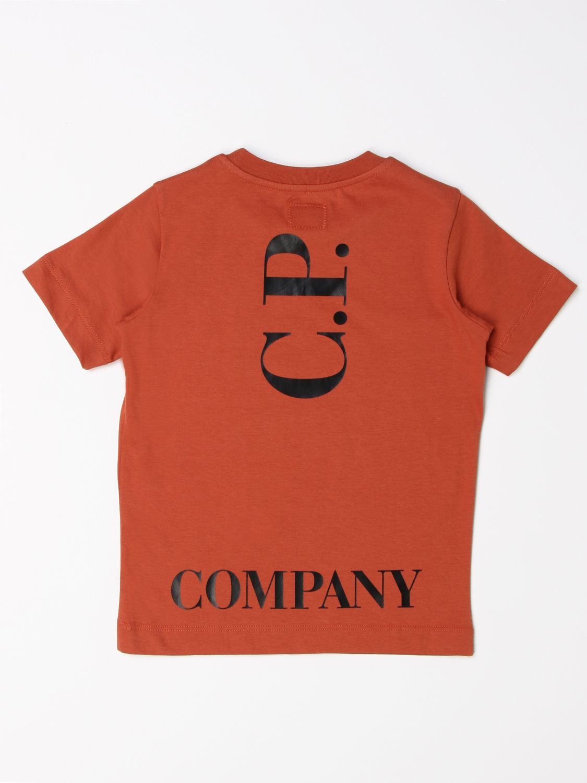 Camiseta C.p. Company: Camiseta niños C.p. Company tierra 2