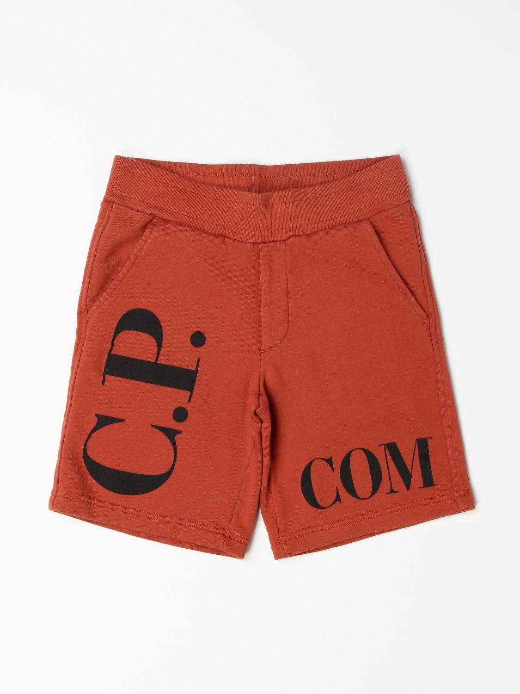 Pantalón corto C.p. Company: Pantalón corto niños C.p. Company tierra 1