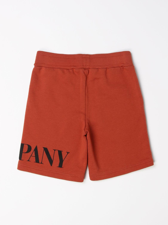 Pantalón corto C.p. Company: Pantalón corto niños C.p. Company tierra 2