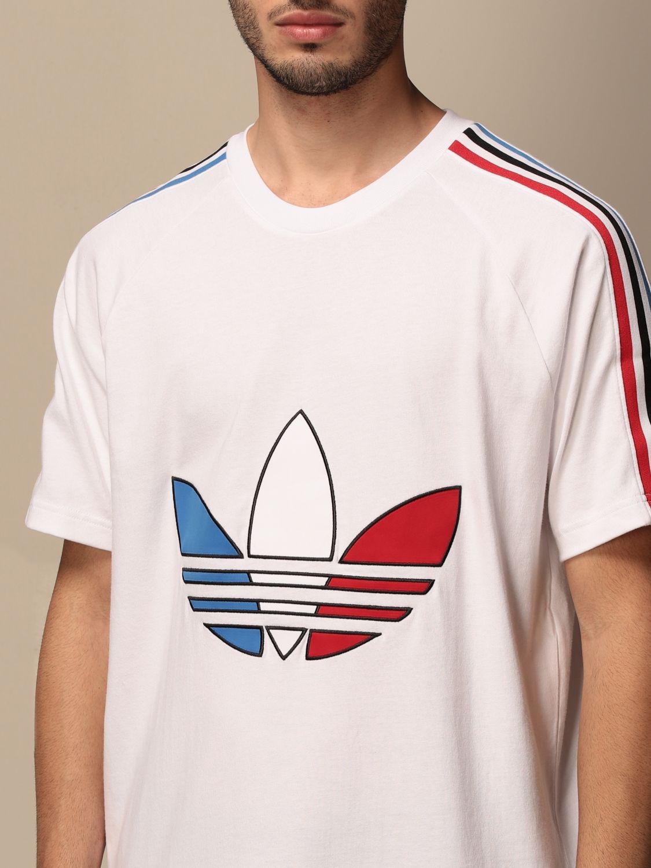 T-shirt Adidas Originals: T-shirt homme Adidas Originals blanc 3