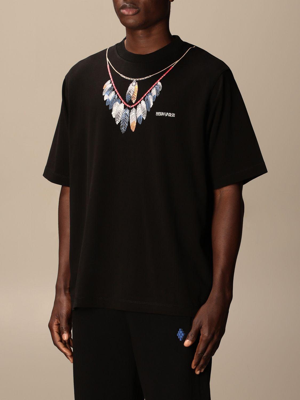 T-shirt Marcelo Burlon: T-shirt homme Marcelo Burlon noir 3