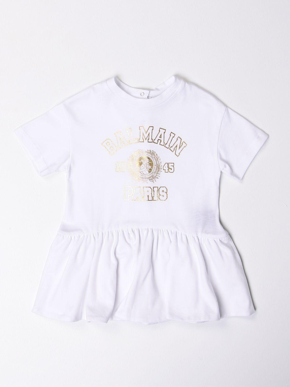 Pelele Balmain: Pelele niños Balmain blanco 1