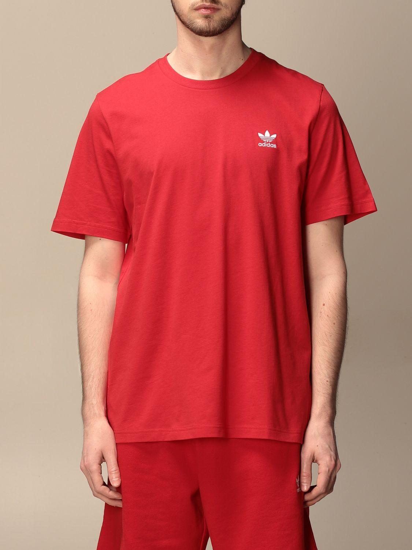 T-shirt Adidas Originals: Basic Adidas Originals t-shirt with logo red 1