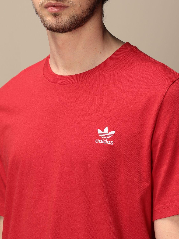 T-shirt Adidas Originals: Basic Adidas Originals t-shirt with logo red 3