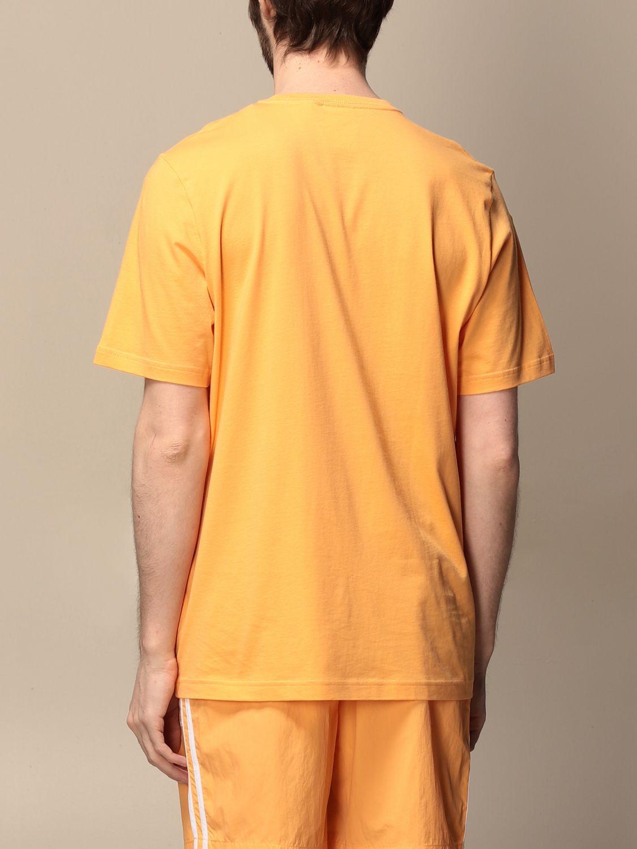 T-shirt Adidas Originals: T-shirt Adidas Originals con logo albicocca 2