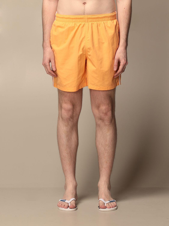 Swimsuit Adidas Originals: Adidas Originals swimsuit with logo apricot 1