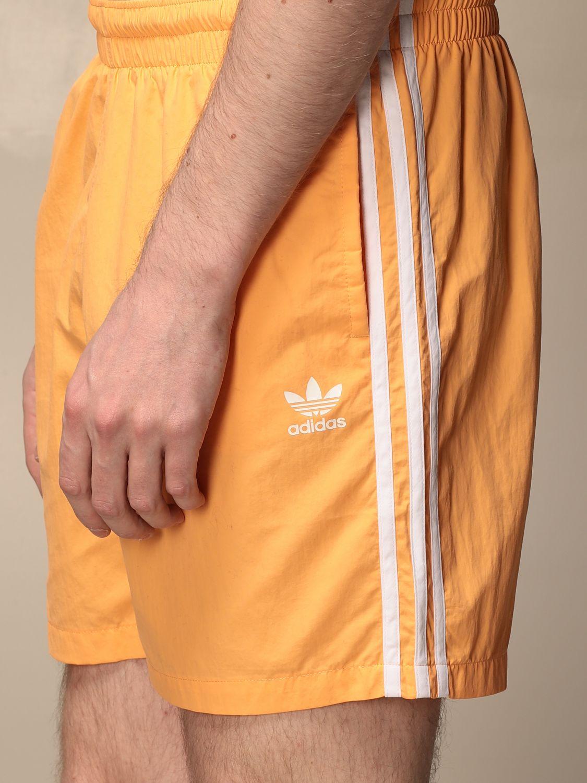 Swimsuit Adidas Originals: Adidas Originals swimsuit with logo apricot 3