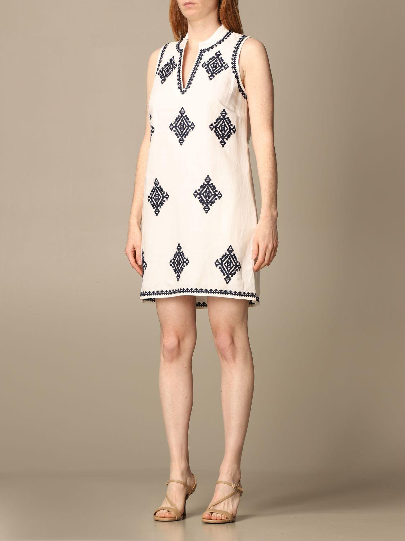 Dress Tory Burch: Dress women Tory Burch white 3