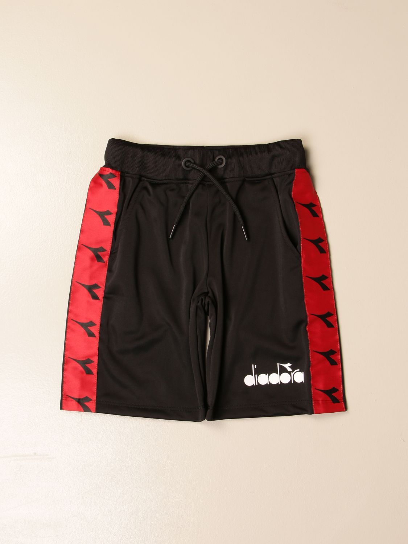 Pantalón corto Diadora: Pantalón corto niños Diadora negro 1