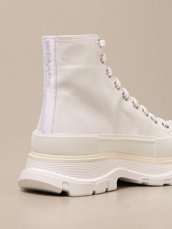 Sneakers Alexander Mcqueen: Sneakers Alexander McQueen in pelle scamosciata bianco 3