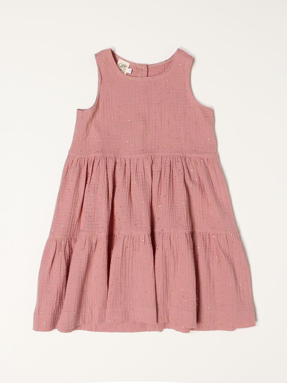 Vestido Caffe' D'orzo: Traje niños Caffe' D'orzo rosa 1