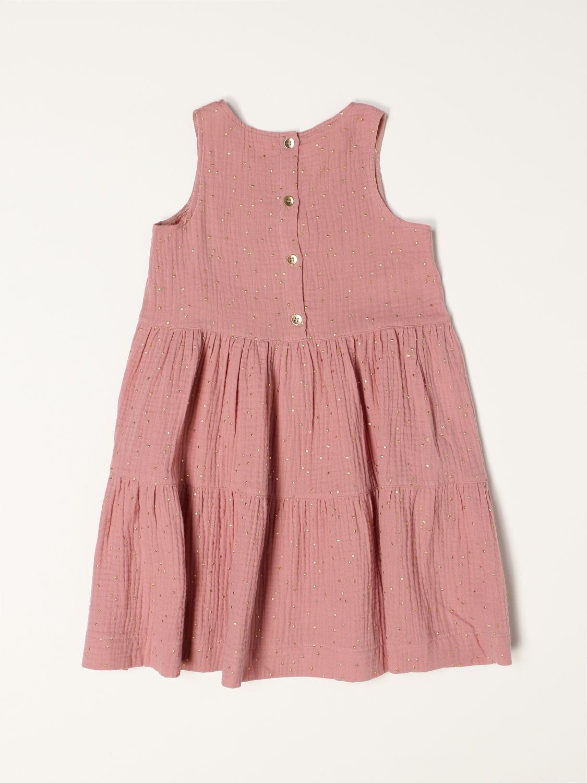 Vestido Caffe' D'orzo: Traje niños Caffe' D'orzo rosa 2