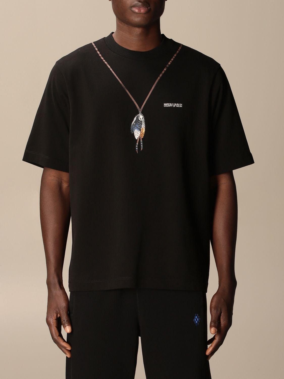 Camiseta Marcelo Burlon: Camiseta hombre Marcelo Burlon negro 1