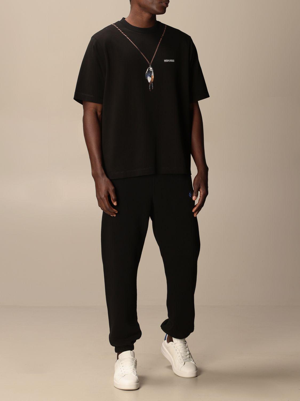 Camiseta Marcelo Burlon: Camiseta hombre Marcelo Burlon negro 2
