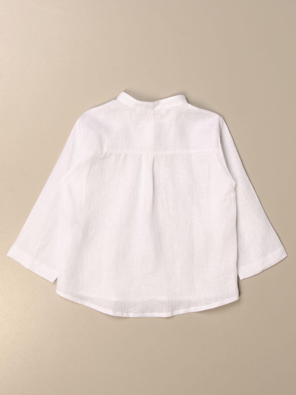 Chemise Mariella Ferrari: Chemise enfant Mariella Ferrari blanc 2