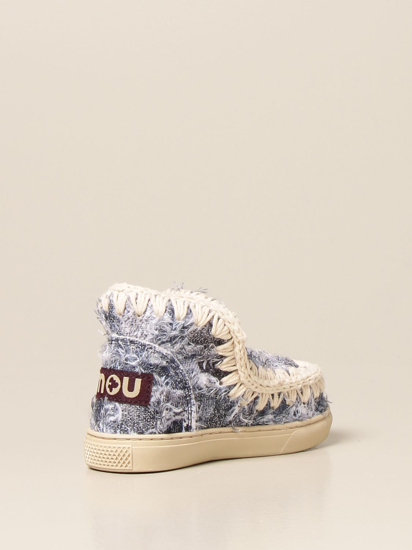 Chaussures Mou: Chaussures enfant Mou denim 3