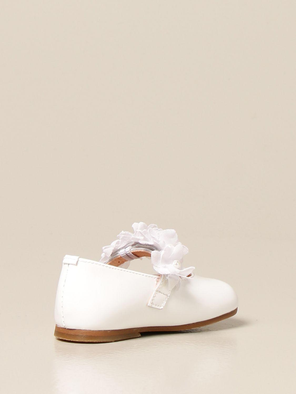 Zapatos Clarys: Zapatos niños Clarys blanco 3