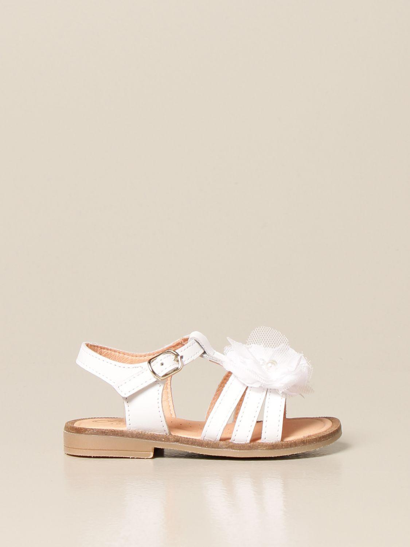 Zapatos Clarys: Zapatos niños Clarys blanco 1