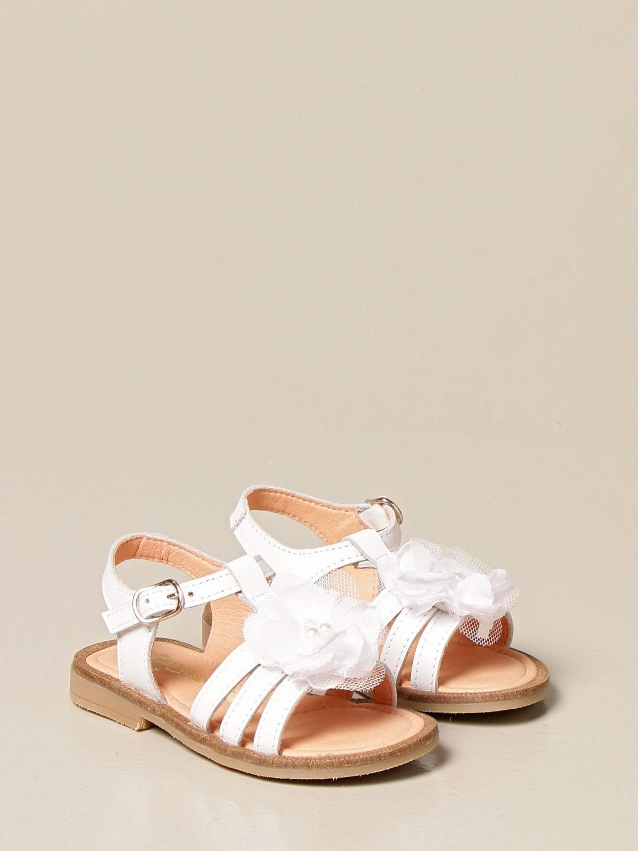 Zapatos Clarys: Zapatos niños Clarys blanco 2