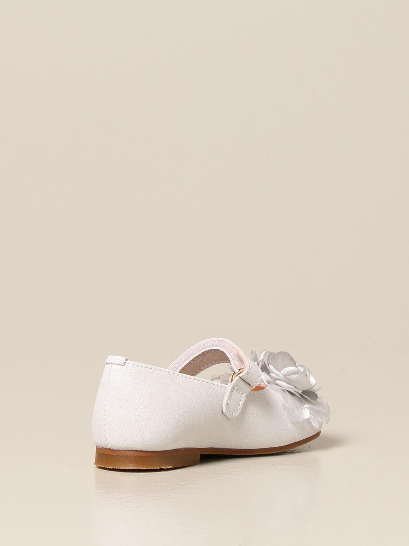 Shoes Clarys: Clarys glitter ballerina silver 3