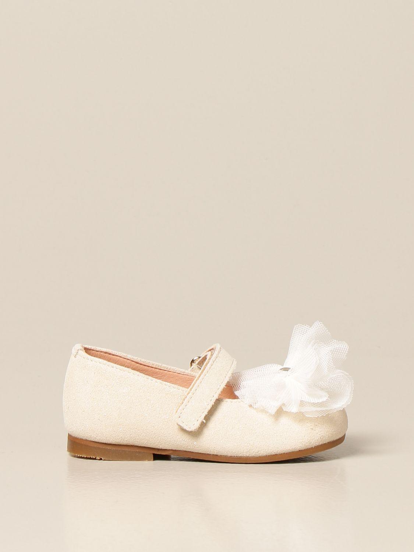 Zapatos Clarys: Zapatos niños Clarys platino 1