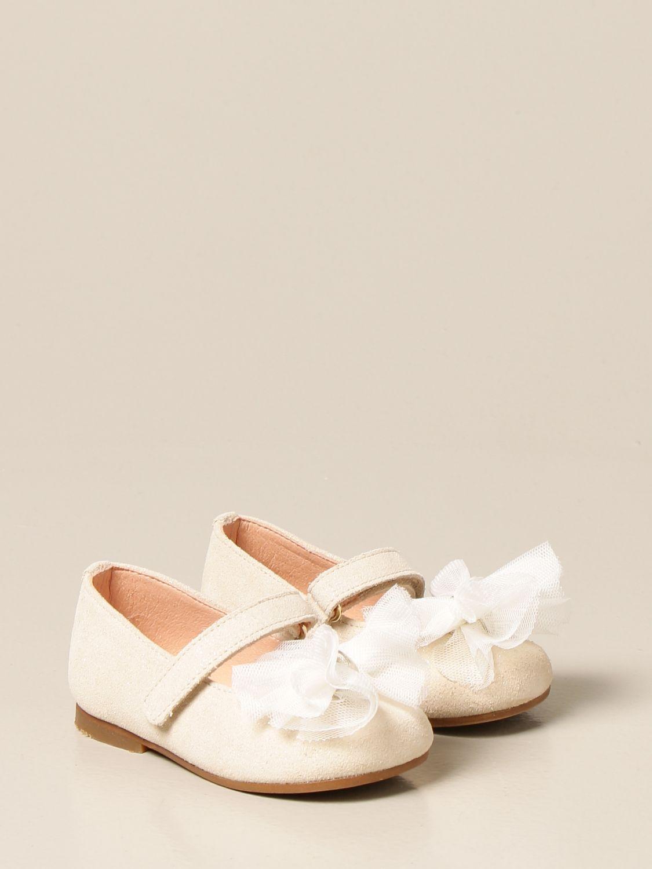 Zapatos Clarys: Zapatos niños Clarys platino 2
