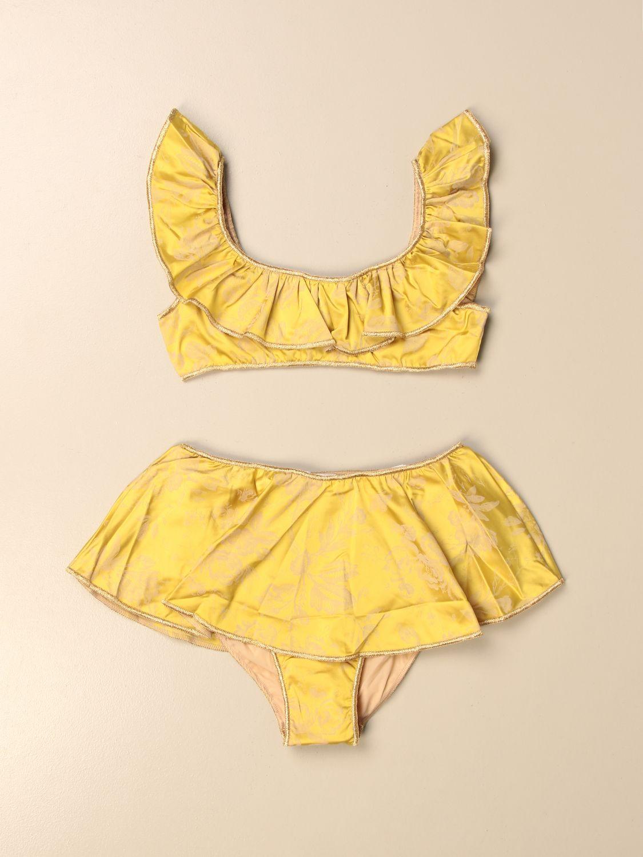 Costume Oseree: Costume a bikini Oseree a fantasia floreale giallo 1