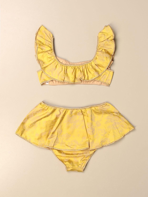 Costume Oseree: Costume a bikini Oseree a fantasia floreale giallo 2