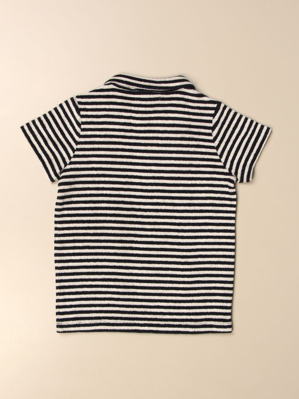 T-shirt Douuod: Polo Douuod a righe blue 2