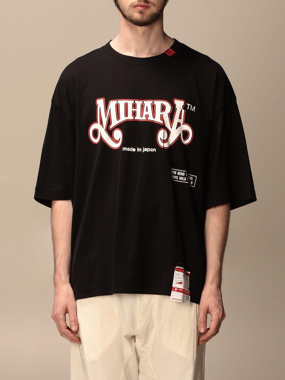 T-shirt Maison Mihara Yasuhiro: T-shirt men Maison Mihara Yasuhiro black 1