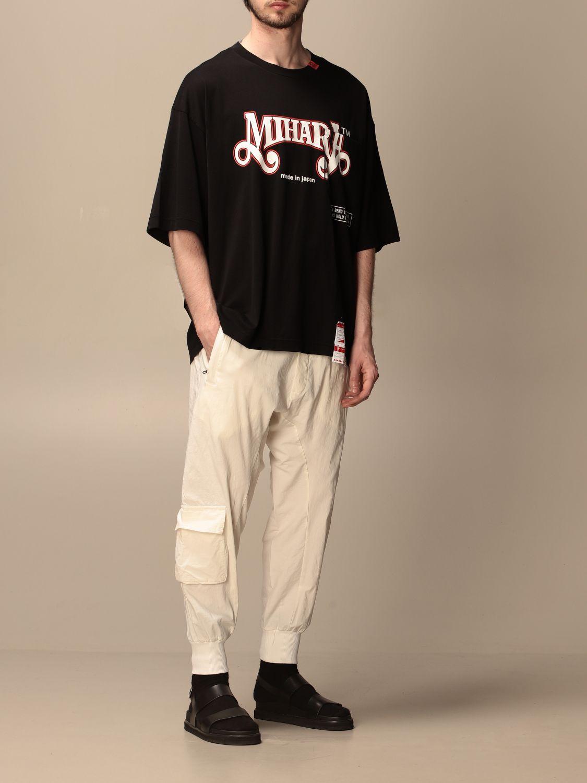 T-shirt Maison Mihara Yasuhiro: T-shirt men Maison Mihara Yasuhiro black 2