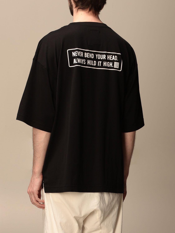 T-shirt Maison Mihara Yasuhiro: T-shirt men Maison Mihara Yasuhiro black 3