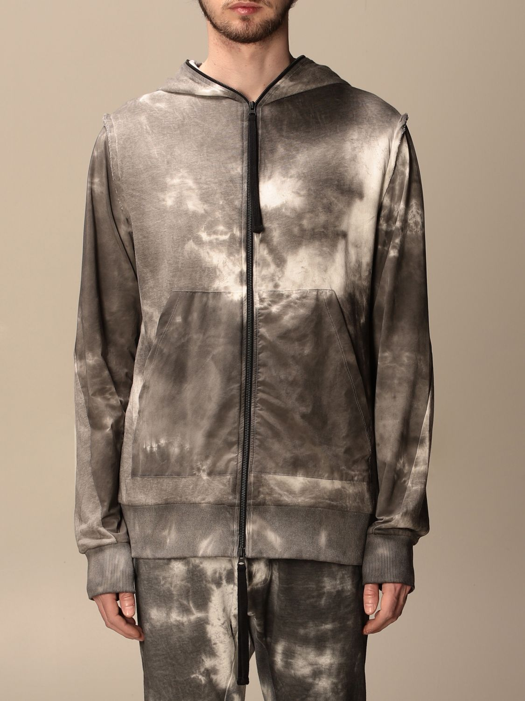Sweatshirt Thom Krom: Jacke herren Thom Krom grau 1