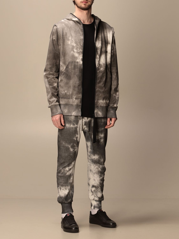 Sweatshirt Thom Krom: Jacke herren Thom Krom grau 2