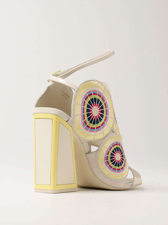 Босоножки на каблуке Kat Maconie: Босоножки на каблуке Женское Kat Maconie бежевый 3