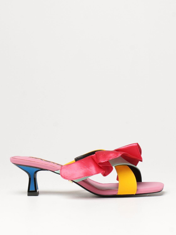 Босоножки на каблуке Kat Maconie: Босоножки на каблуке Женское Kat Maconie многоцветный 1