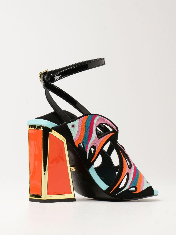 Босоножки на каблуке Kat Maconie: Босоножки на каблуке Женское Kat Maconie черный 3