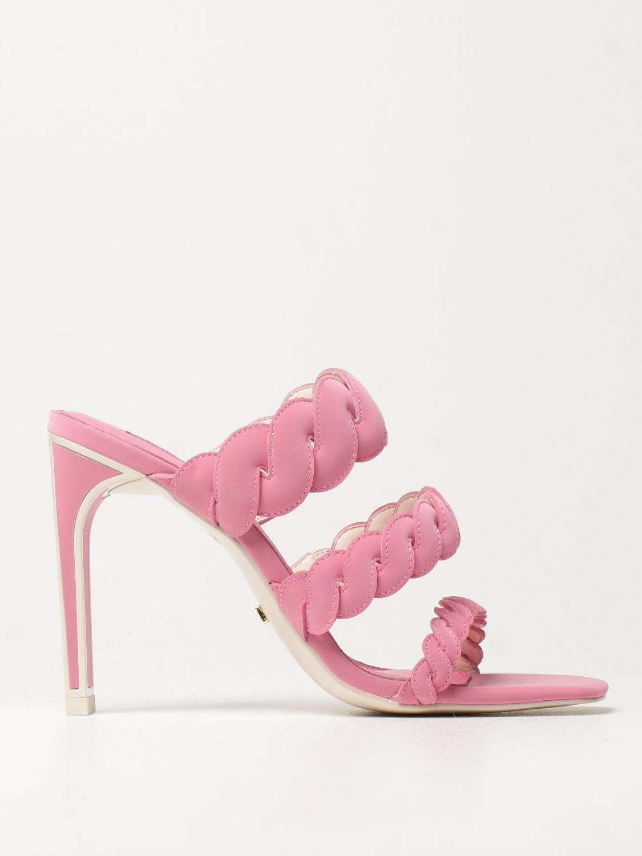 Босоножки на каблуке Kat Maconie: Босоножки на каблуке Женское Kat Maconie розовый 1