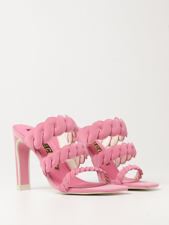 Босоножки на каблуке Kat Maconie: Босоножки на каблуке Женское Kat Maconie розовый 2