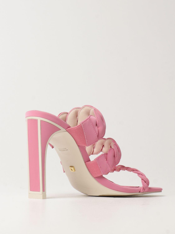 Босоножки на каблуке Kat Maconie: Босоножки на каблуке Женское Kat Maconie розовый 3