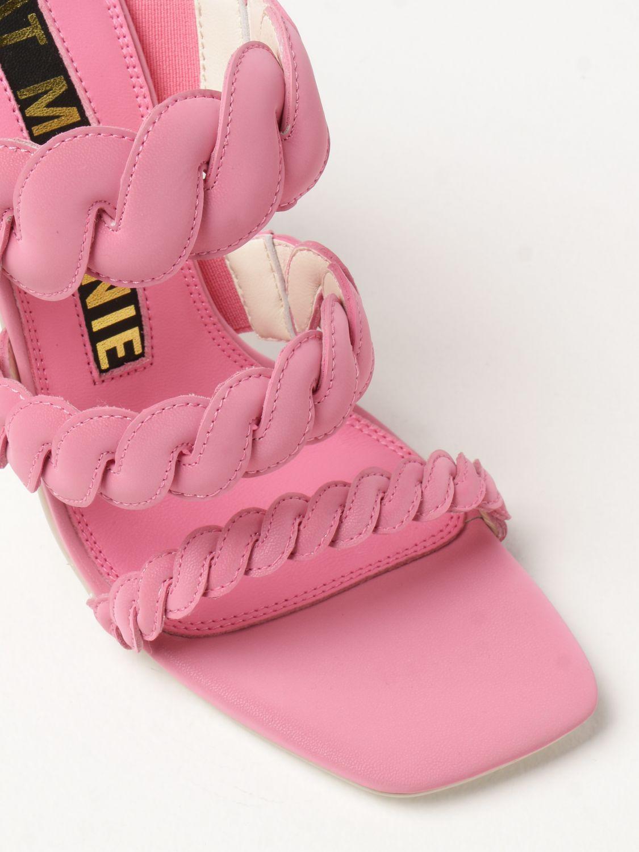 Босоножки на каблуке Kat Maconie: Босоножки на каблуке Женское Kat Maconie розовый 4