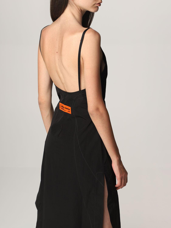 Vestido Heron Preston: Vestido mujer Heron Preston negro 4