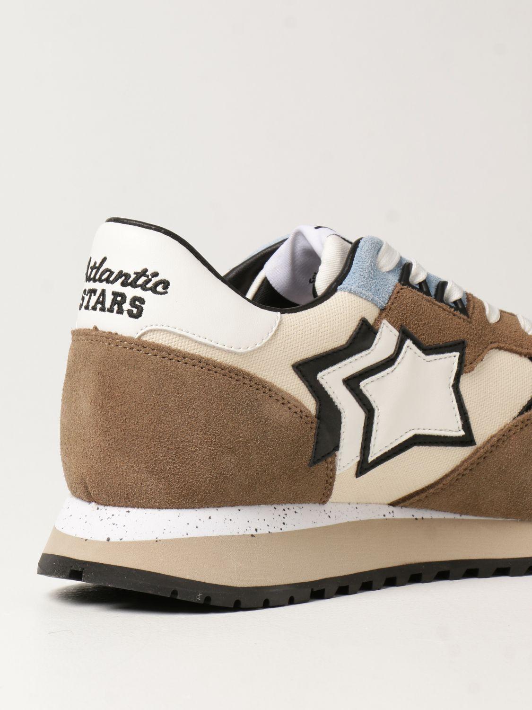 Sneakers Atlantic Stars: Sneakers Atlantic Stars in canvas e camoscio beige 3