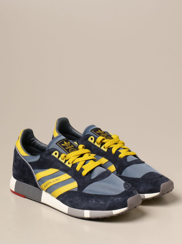 Sneakers Adidas Originals: Sneakers Boston Super Adidas Originals in tela e camoscio blue 2