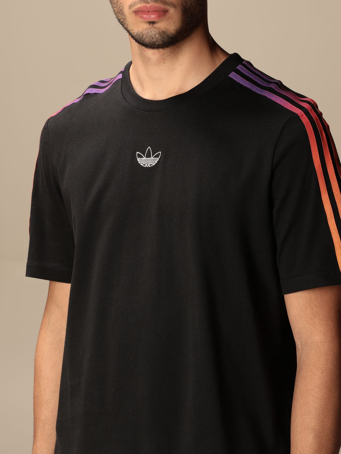 T-shirt Adidas Originals: T-shirt men Adidas Originals black 3