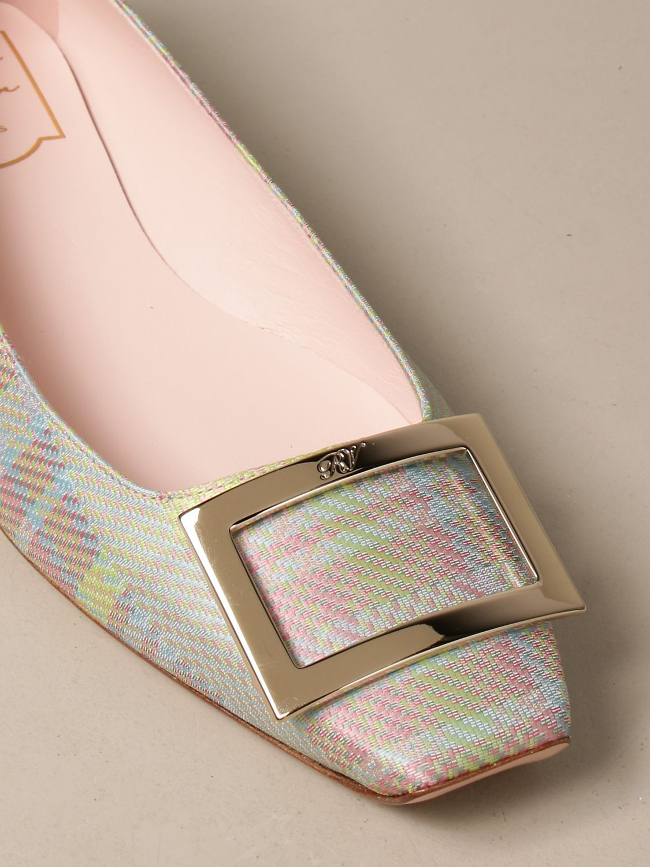 Manoletinas Roger Vivier: Zapatos mujer Roger Vivier lavanda 4