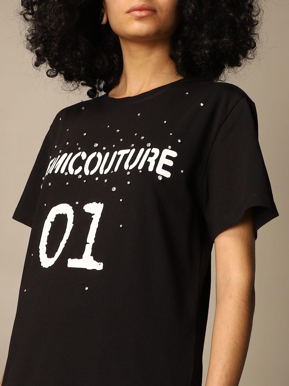 T-Shirt Semicouture: T-shirt damen Semicouture schwarz 3