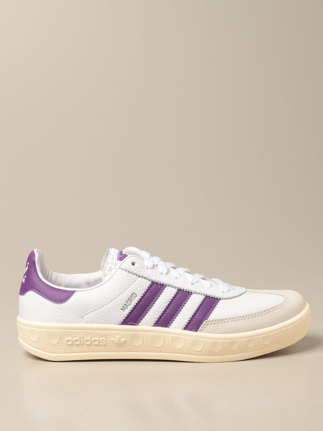 Sneakers Adidas Originals: Madrid Adidas Originals sneakers in leather and suede white 1