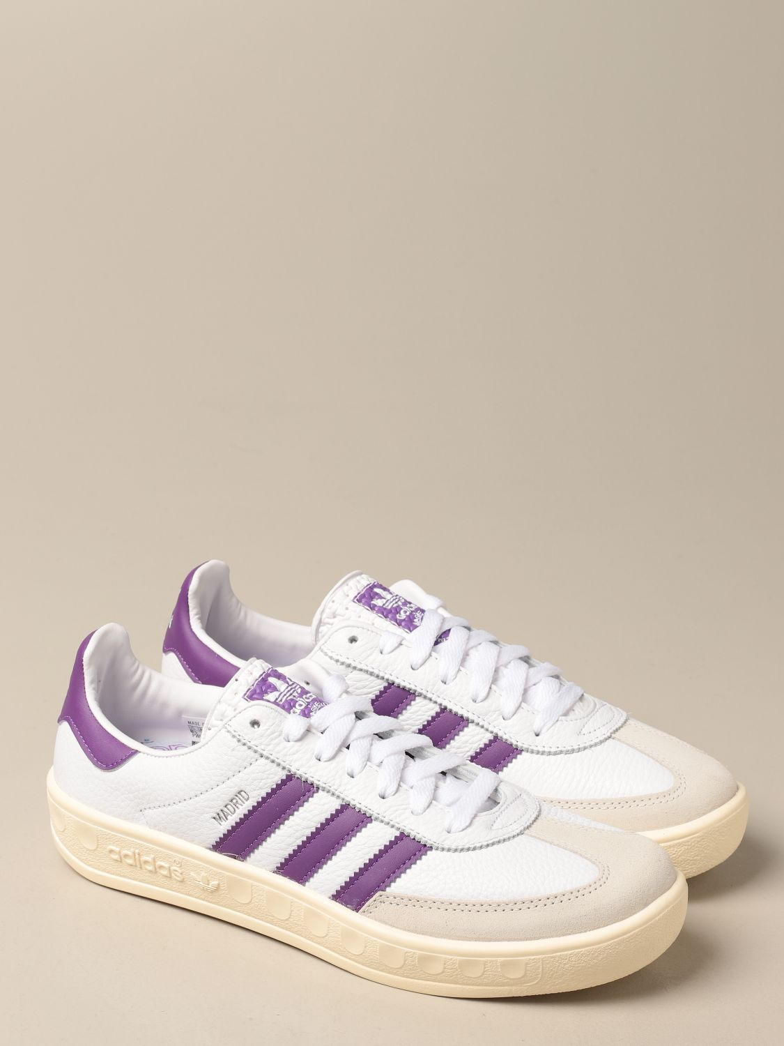 Sneakers Adidas Originals: Madrid Adidas Originals sneakers in leather and suede white 2